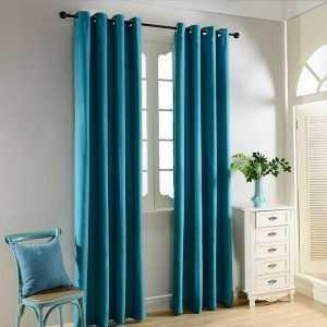 Blackout Velvet Curtains for Bedroom