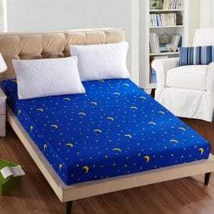 Printed Polyester Mattress Cover