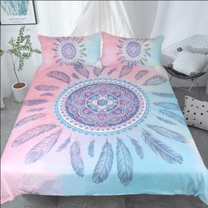 Bedding Mandala Pink Set