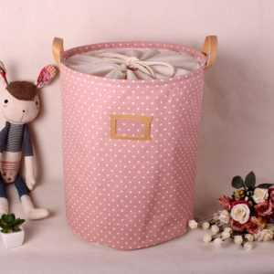 Foldable Linen Laundry Basket